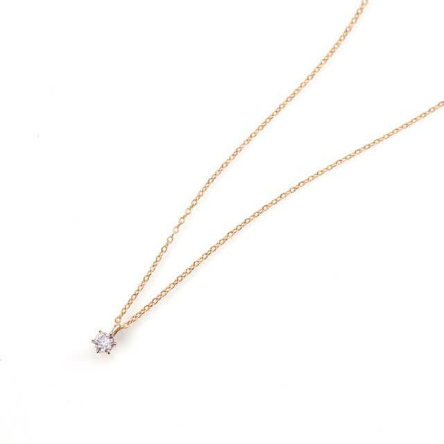 em9049 ピンクダイアモンド0.158ct LIGHT PINK オーバルカット PGK18ネックレス(中央宝石研究所ダイアモンド鑑定ソーティング付)