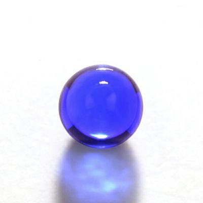 em4310 タンザナイトカボションカットルース 8.95ct(中央宝石研究所宝石鑑別書付)