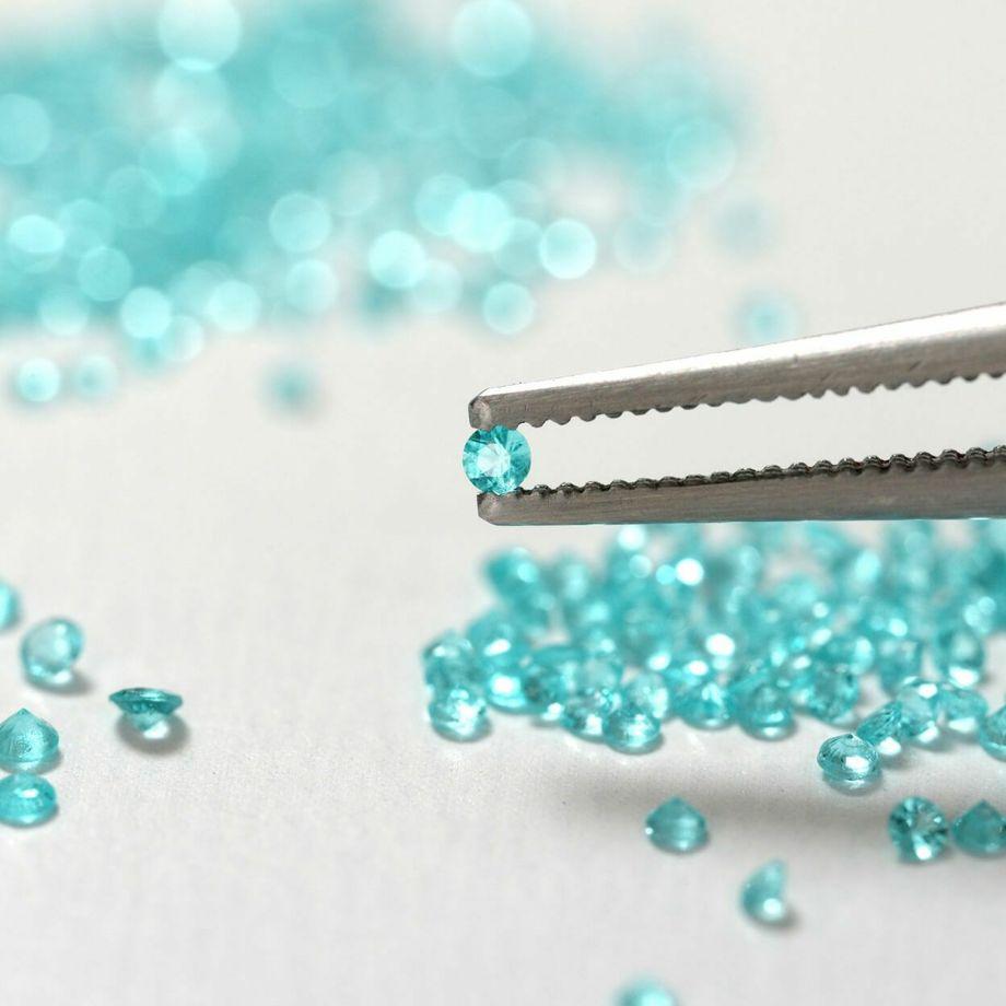 【Blue STAR】ブラジル産パライバトルマリンYGK18リング